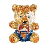 Pailletten Figuren 3D Sequin-Art