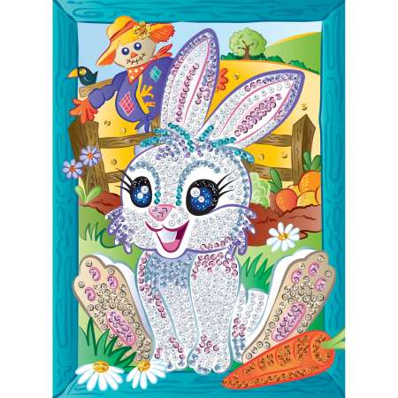 Sequin Art Paillettenbild Hase